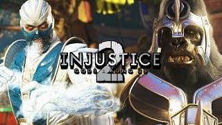 ICE GOD FIGHTS CRAZY GRODD - Sub-Zero: Injustice 2 Online Matches