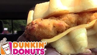 Dunkin Donuts Chicken And Waffles