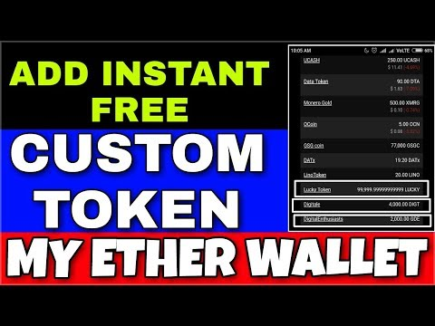 99,9999.99 Candy Token instant !! Add Custom Token in MyEtherWallet !! Free Token No Investment !!