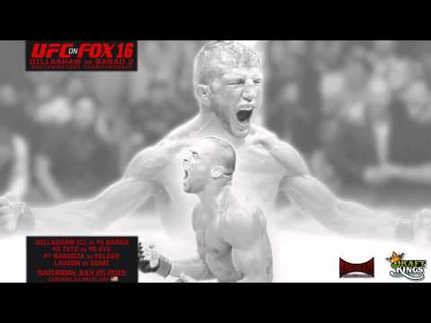 UFC on FOX 16: Dillashaw vs Barao 2 Predictions-  Kamikaze Overdrive