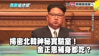 《康仁俊》帝王霸氣外露?揭密北韓神秘實驗室!鑫胖補身都吃?