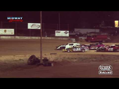 LEBANON MIDWAY SPEEDWAY MIDWEST MODS HEAT RACE #1 - 4-12-19