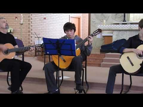 Aqua de beber- A.C.Jobim , Cover, Guitar trio