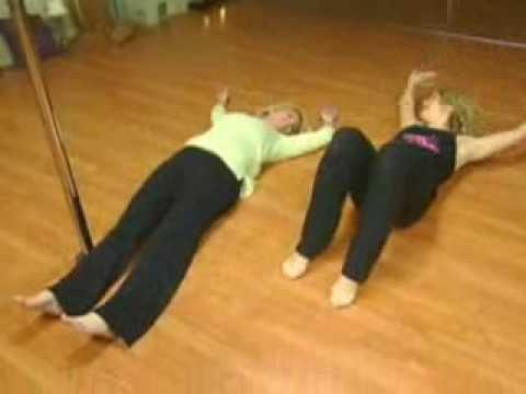 Bringing Sexy Back: Kelly Frey Learns Pole Dancing