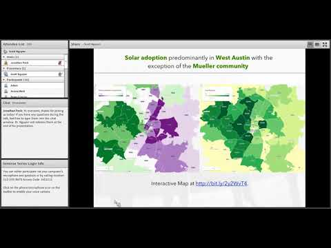 Income Levels and Austin Energy's Solar Incentive Program