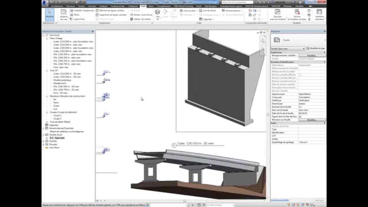 Extensions Ponts pour Revit - Bridge Modeling Autodesk® Revit® Extensions