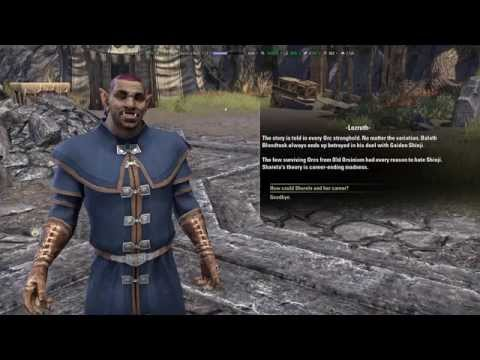 Elder Scrolls Online - Orsinium DLC - Honor's Rest/The Ashes of our Fathers