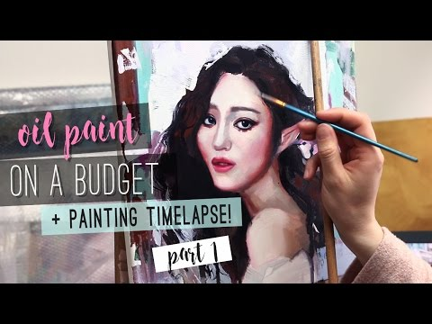 Oil Paint On A Budget | WHICH OIL PAINTS ARE BEST FOR STARTERS