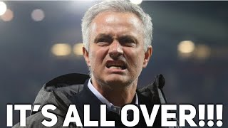 José Mourinho is FINISHED as Manchester United manager | The Football Terrace