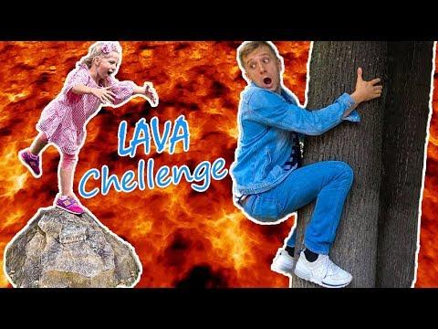 ВСЕ НАЧАЛОСЬ Из За ПАПЫ! Папа Сам Устроил ЧЕЛЛЕНДЖ Пол Это ЛАВА или Floor Is Lava Chellenge