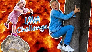 ВСЕ НАЧАЛОСЬ Из За ПАПЫ Папа Сам Устроил ЧЕЛЛЕНДЖ Пол Это ЛАВА или Floor is lava Chellenge