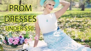 Prom Dresses Priced Under $50  |  Cheap Formal Dresses 2018  |  TRENDY FASHION