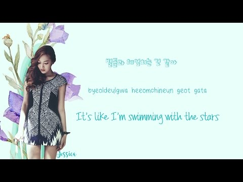 Jessica - Dancing On The Moon Lyrics (Han|Rom|Eng)