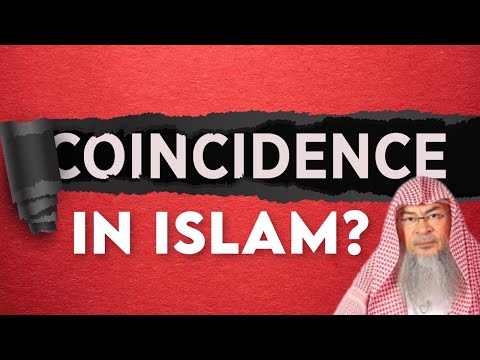 What is the ruling on believing in Coincidence in Islam? assimalhakeem -JAL