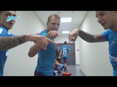 Зенит - Спартак 5:1 видео