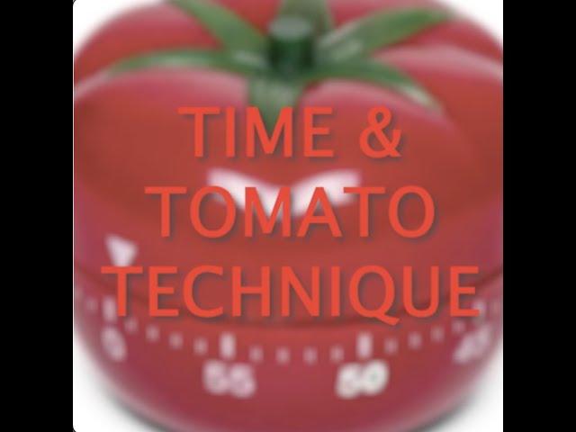 QUIckLearn - Time & tomato technique