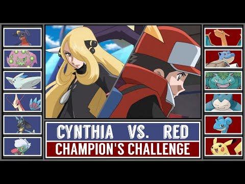 Battle of Champions: RED vs. CYNTHIA (Pokémon Sun/Moon)