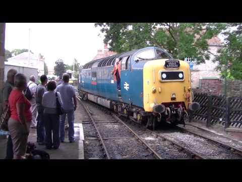British Rail Class 55 Deltic 55 022 (Royal Scots Grey)