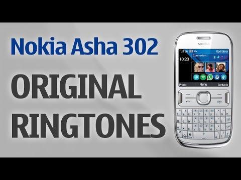 Nokia Asha 302 Ringtones (Original)