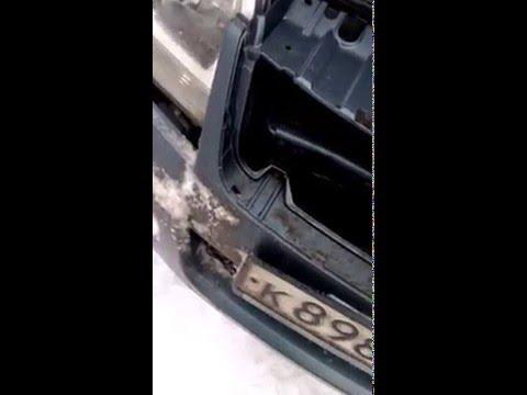 Как снять решетку радиатора на сузуки гранд витара видео