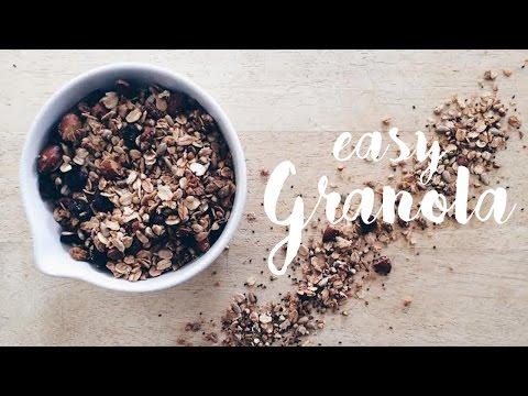 Superfood Granola / Healthy, Vegan & Oil-Free Recipe!