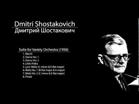 Shostakovich - Suite for Variety Orchestra - 6. Waltz No. 1 (B-flat major & A major)