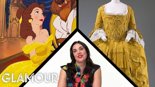 Fashion Expert Fact Checks Belle from Beauty and the Beast's Costumes | Glamour