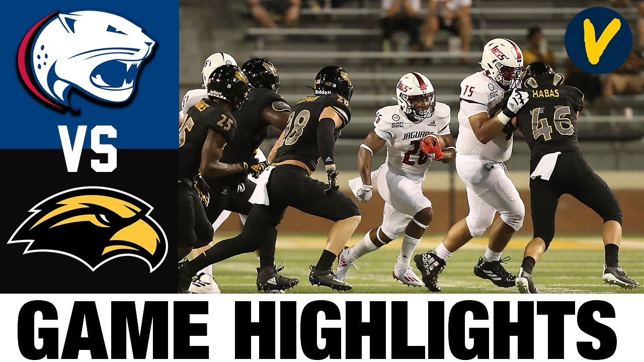 South Alabama vs Southern Miss Highlights | Week 1 | 2020 College Football Full Game Highlights