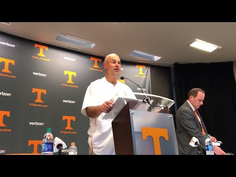 Jeremy Pruitt liked how Vols competed in loss to Florida