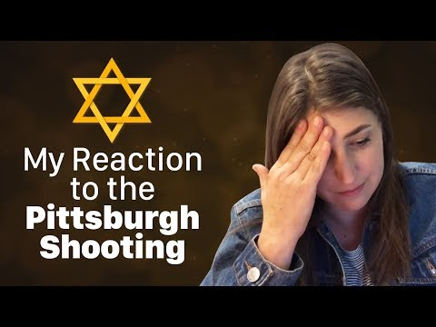 My Thoughts on the Pittsburgh Shooting  Mayim Bialik