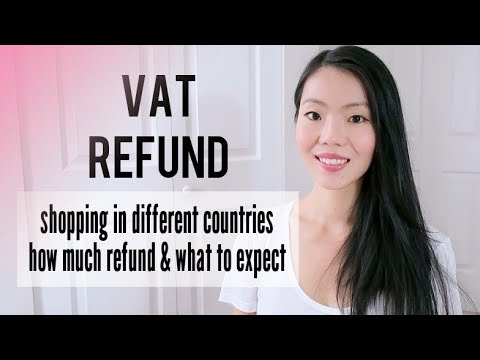 VAT REFUND: Shopping all over Europe, how much I got back, how long it took & more! | FashionablyAMY
