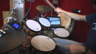 Deep Purple - Strange Kind Of Woman (live) - Drum Cover