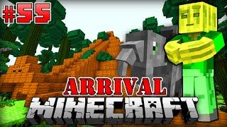 ZEITREISE in die STEINZEIT - Minecraft Arrival #055 [Deutsch/HD]