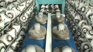 Production process of the official 2010 FIFA World Cup match ball Jabulani thumbnail