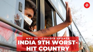 Coronavirus on May 29, India becomes 9th worst-hit country