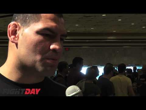 Cain Velasquez UFC 146 Press Conference Video Interview