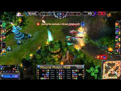 Liga Mexicana de League of Legends | BrawL vs Destroy Gaming 2 | Mexico | Set 1