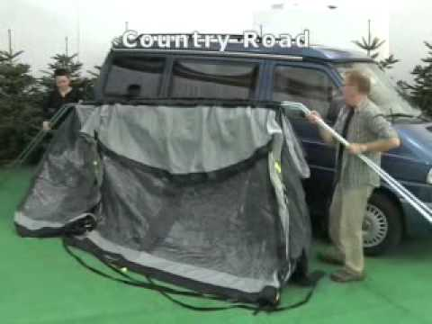how to pitch the outwell country road awning youtube. Black Bedroom Furniture Sets. Home Design Ideas
