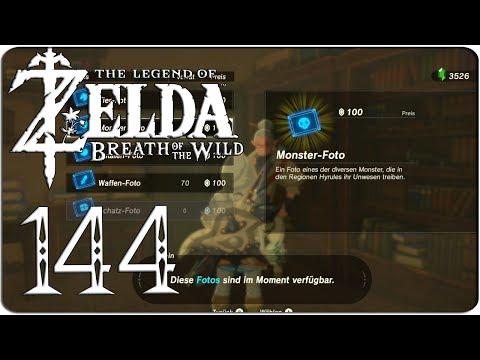 THE LEGEND OF ZELDA: BREATH OF THE WILD #144 ► Die kaufbaren Fotos!