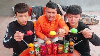 Hữu Bộ | Thử Nhuộm Màu Quả Trứng Bằng Các Loại Nước Ngọt (Try dyeing eggs by soft drink)