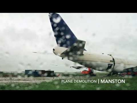 Plane Demolition, Manston - Goody Demolitioin