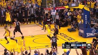 4th Quarter, One Box Video: Golden State Warriors vs. LA Clippers
