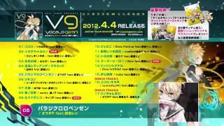 【4月4日発売】EXIT TUNES PRESENTS Vocalogemini feat.鏡音リン、鏡音レン