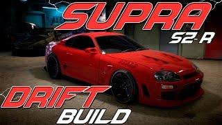 need for speed   toyota supra sz r drift build nfs 2015