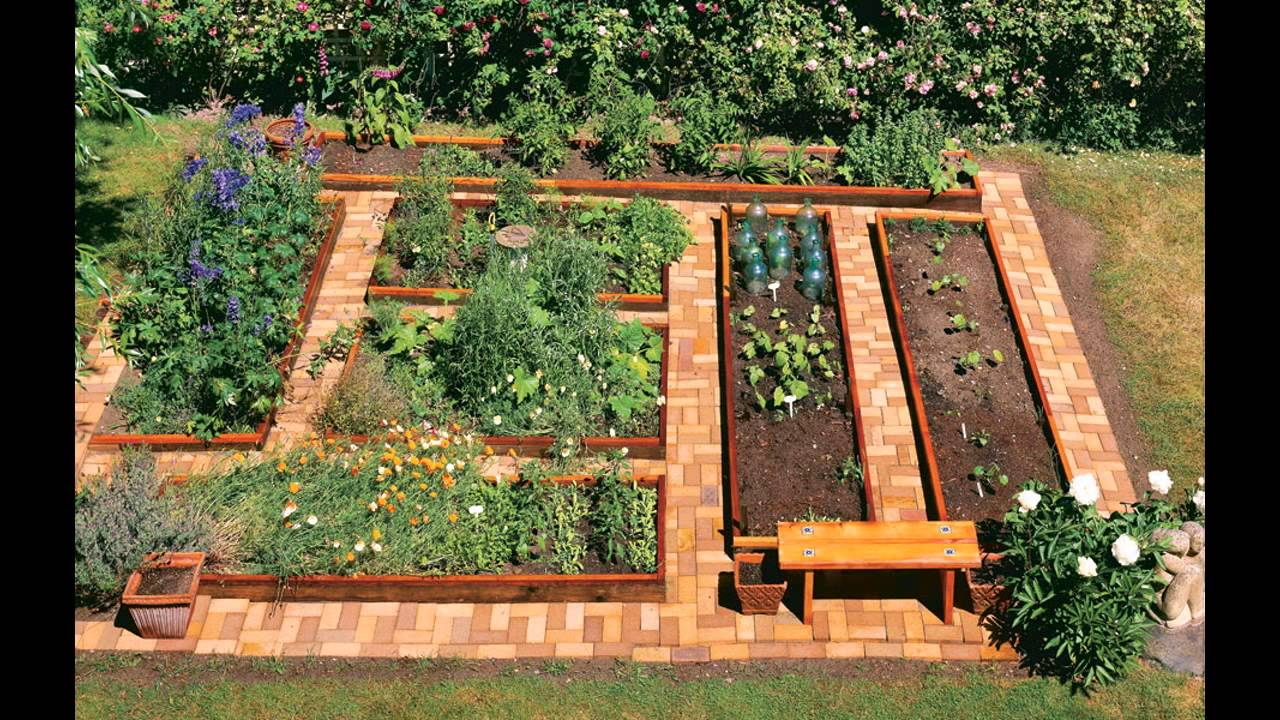 Garden Ideas gardening raised beds - YouTube