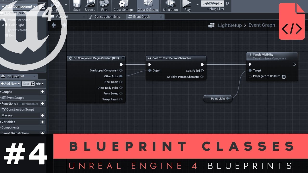 Working with blueprint classes 4 unreal engine 4 blueprints working with blueprint classes 4 unreal engine 4 blueprints tutorial series malvernweather Image collections