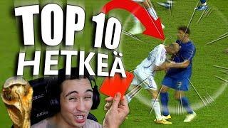 TOP 10 Järkyttävää MM-FUTIS hetkeä