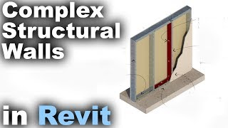 Complex Walls with Construction in Revit Tutorial