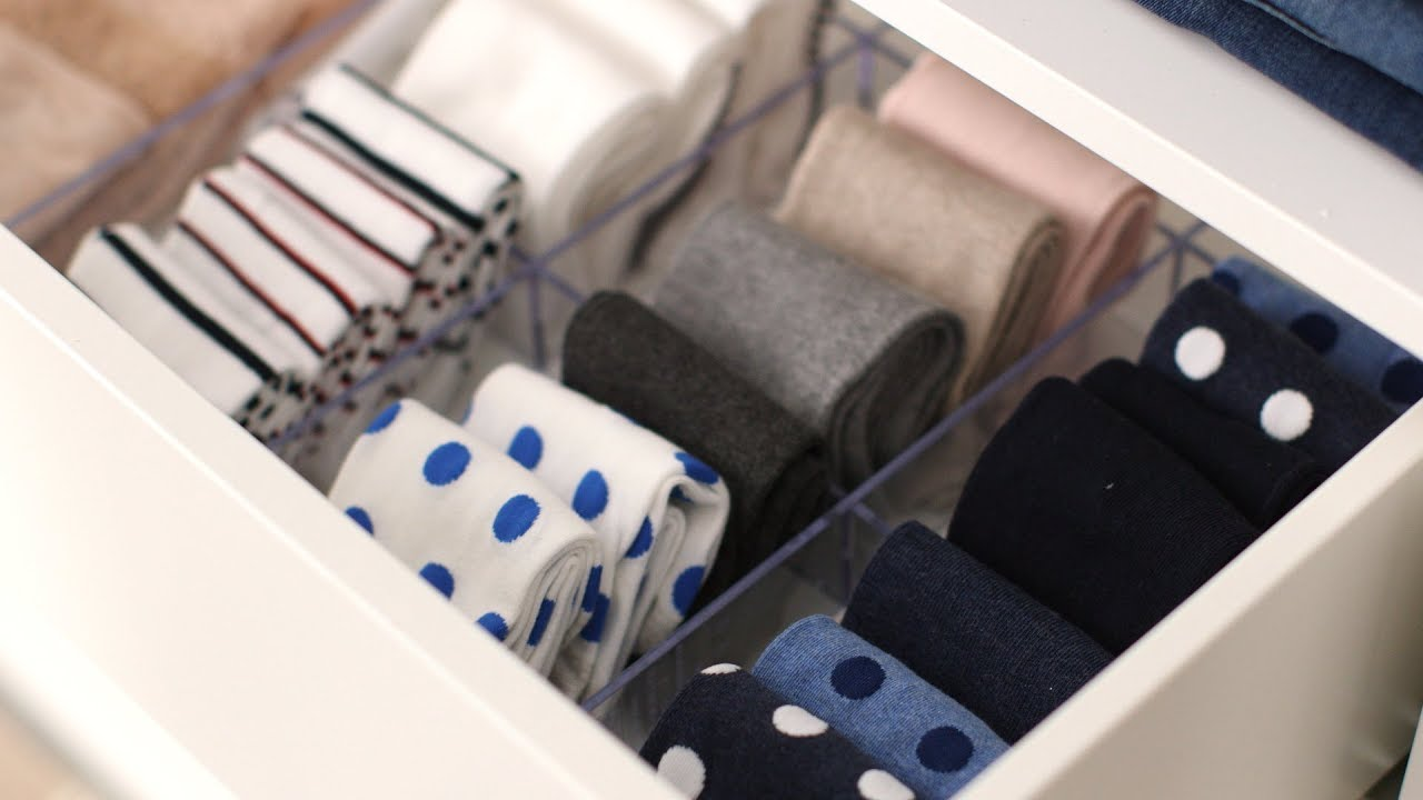 How To Organize Your Sock Drawer Martha Stewart
