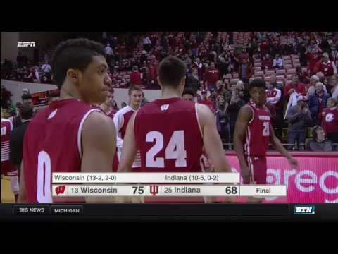 Wisconsin at Indiana - Men